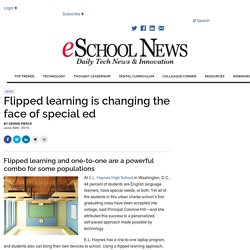 Flipped learning is changing the face of special ed