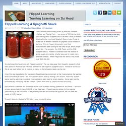 Flipped Learning & Spaghetti Sauce