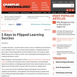 5 Keys to Flipped Learning Success