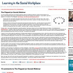 » The Flipped (or Social) Webinar Learning in the Social Workplace