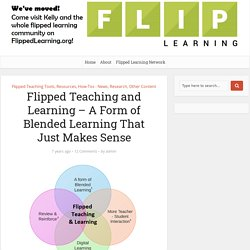 Flipped Teaching and Learning – A Form of Blended Learning That Just Makes Sense – Flipped Classroom Workshop
