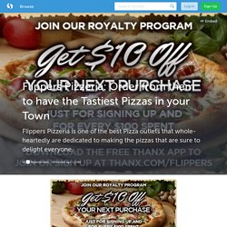 Flippers Pizzeria: Order from them to have the Tastiest Pizzas in your Town (with image) · flipperspizzaus