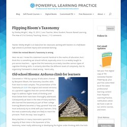 Flipping Bloom's Taxonomy