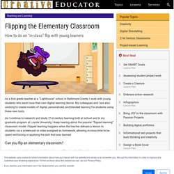 Flipping the Elementary Classroom