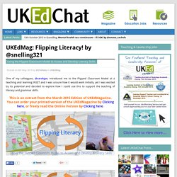 Flipping Literacy! by @snelling321