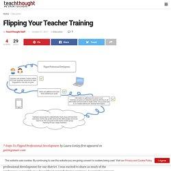 Flipping Your Teacher Training