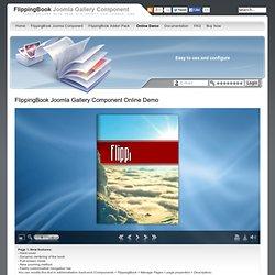 FlippingBook Joomla Gallery Component - FlippingBook Joomla Gallery Component Online Demo