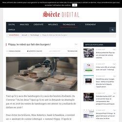 Flippy, le robot qui fait des burgers !