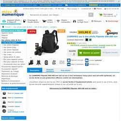 LOWEPRO Flipside 400 AW noir en stock à prix discount