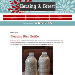 Floating Rice Bottle