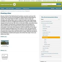 Villes flottantes - Agence européenne pour l'environnement (AEE)