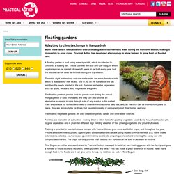 Practical Action - Floating gardens