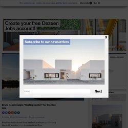 "Bruno Rossi designs ""floating pavilion"" for Brazilian lake"