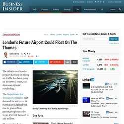 Floating Airport Proposed For London