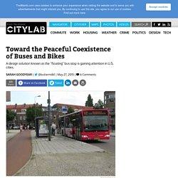 'Floating' Bus Stops Separate Transit Traffic From Bike Lanes