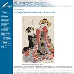 The Floating World of the Yoshiwara - Poetry Society