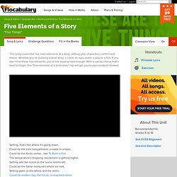Five Elements of a Story