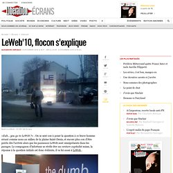 LeWeb'10, flocon s'explique