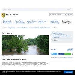 Flood Control - Stadt Leipzig