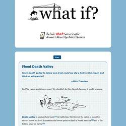 Thunk: Flood Death Valley?