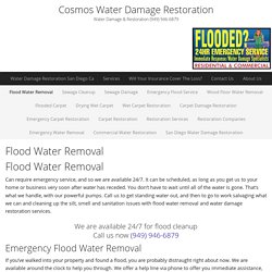 Flood Water Removal