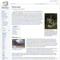 Flood myth