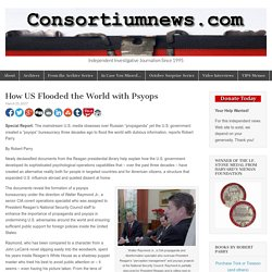 How US Flooded the World with Psyops – Consortiumnews