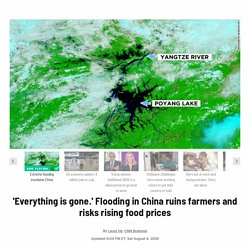 Flooding in China ruins farmers and risks rising food prices - CNN