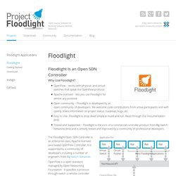 Floodlight OpenFlow Controller -Project Floodlight