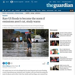 San Diego & Key West Experience '1/100yr' Floods Monthly