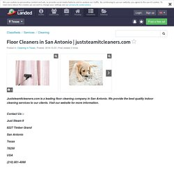 Floor Cleaners in San Antonio