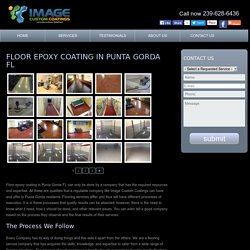 Decorative concrete Punta Gorda