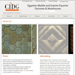 Marble and Granite-Cidegypt