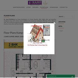 Floor Plans Sir Syed Residency @L-Zone Dwarka