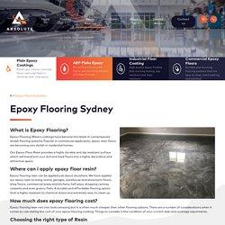 Industrial Flooring, Epoxy Resin, Concrete Paint, Concrete Resurfacing & Polished Concrete