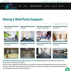 MBT - Flooring Solutions - Skirting and Wood-Plastic Composite