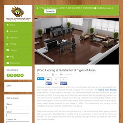 Wood Flooring is Suitable for all Types of Areas