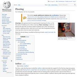 Flooring - Wikipedia