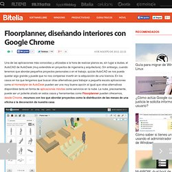 Floorplanner, diseñando interiores con Google Chrome iOS, Floorplanner, diseño, chrome web apps,