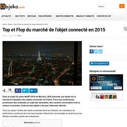 Top et Flop du marché de l'objet connecté en 2015