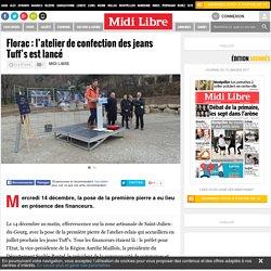Florac : l'atelier de confection des jeans Tuff's est lancé