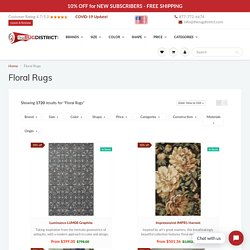 Buy Floral Rugs Online at Discounted Prices
