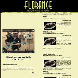 Peter Florance Voodoo Fender Strat Pickups