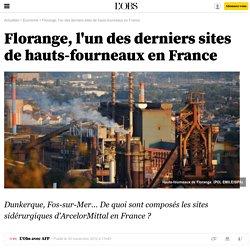 Florange, l'un des derniers sites de hauts-fourneaux en France - 30 novembre 2012