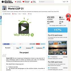 World COP 21 présenté par Flore Bergerault