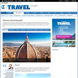Florence city break guide
