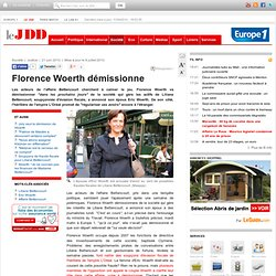 Florence Woerth démissionne - Eric Florence Woerth démission Bet