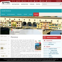 Florence : Guide de voyage Florence