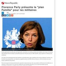 """Florence Parly présente le """"plan Famille"""" pour les militaires"""