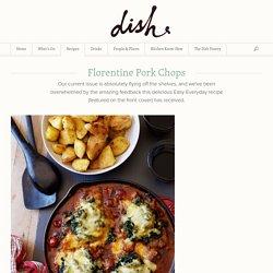 Florentine Pork Chops